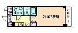 アーデン京町堀ウエスト[2階]の間取り