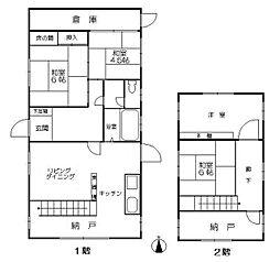 [一戸建] 福岡県福岡市西区姪の浜3丁目 の賃貸【/】の間取り