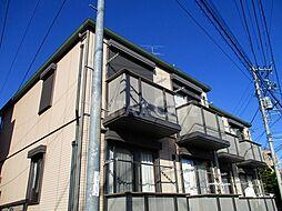 神奈川県川崎市多摩区菅北浦2丁目の賃貸アパートの外観