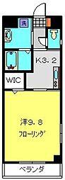 YAMAKI二俣川[3階]の間取り