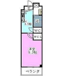 パルティール西船[3階]の間取り