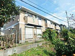 東京都日野市西平山2丁目の賃貸アパートの外観