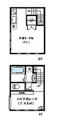 [テラスハウス] 東京都世田谷区弦巻2丁目 の賃貸【/】の間取り