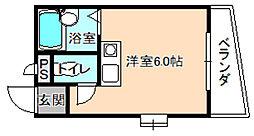 プランタンマンション[3階]の間取り