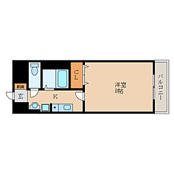 滋賀県愛知郡愛荘町沓掛の賃貸アパートの間取り