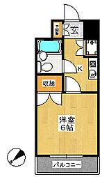 センチュリー鴻巣第一マンション[6階]の間取り