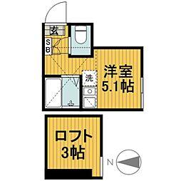 M・Yハウス二俣川[203号室]の間取り