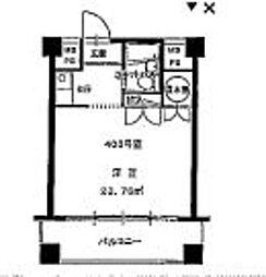 神奈川県横浜市青葉区つつじが丘の賃貸マンションの間取り