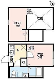 Cozy House 相模原(コージーハウス サガミハラ)[1階]の間取り