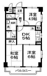プロージットアズマ[2階]の間取り