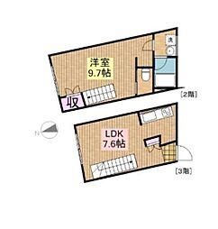 IKENOUE04[3階]の間取り