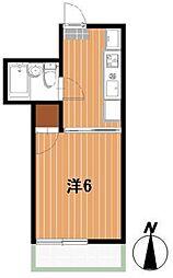 ロイヤルハイツ川元[2階]の間取り