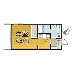 クリオコンフォート横浜反町[3階]の間取り