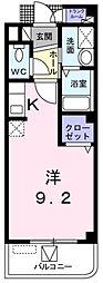 大阪府堺市南区豊田の賃貸マンションの間取り