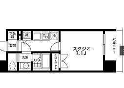レジディア文京本郷[1103号室]の間取り