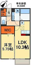 JR総武線 稲毛駅 徒歩29分の賃貸マンション 1階1LDKの間取り