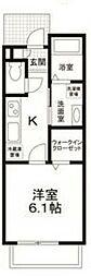 (仮称)江戸川区南小岩5丁目計画 1階1Kの間取り
