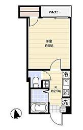 ドミール亀戸[3階]の間取り