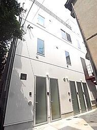 東京都世田谷区等々力4丁目の賃貸アパートの外観