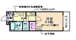 エトワール箕面[1階]の間取り