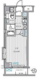 メゾンカルム西新宿[3階]の間取り