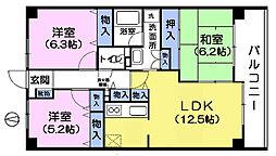 ドルチェ西新井[4階]の間取り
