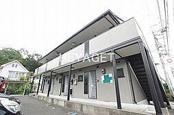 東京都青梅市根ヶ布1丁目の賃貸アパートの外観