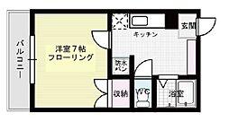 ミラマール箱崎[401号室]の間取り