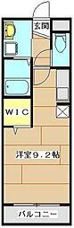 JR京浜東北・根岸線 大宮駅 バス12分 日大前下車 徒歩2分の賃貸マンション 3階ワンルームの間取り