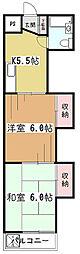 メゾン・ド・ボヌール[3階]の間取り