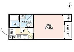 ネクストステージ宮原(ネクストステージミヤハラ)[2階]の間取り