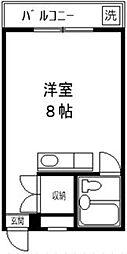 コーポ YOSHII[105号室]の間取り