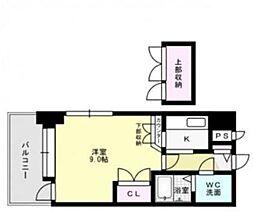 福岡県福岡市城南区別府1丁目の賃貸マンションの間取り