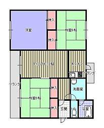 第2志免東福ビル[403号室]の間取り