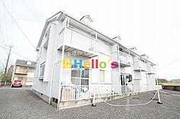 東京都昭島市田中町3丁目の賃貸アパートの外観