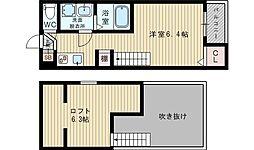 HR金田町[2階]の間取り