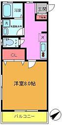 Casa K Ichikawa[103号室]の間取り