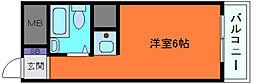 GSハイム元町[5階]の間取り