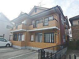 東京都日野市三沢の賃貸アパートの外観