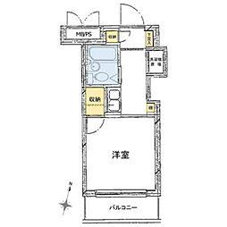 ペガサスマンション渋谷本町第3[4階]の間取り