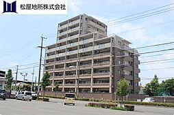 愛知県豊橋市錦町の賃貸マンションの外観
