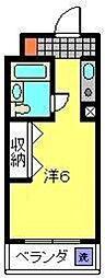スターリー53[303号室]の間取り