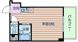 コート天六[6階]の間取り