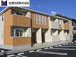 愛知県田原市赤羽根町出口の賃貸アパートの外観