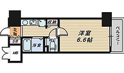 ボン・シェール堺[3階]の間取り