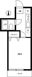 サンホワイト[1階]の間取り