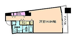 ザ・タワー大阪レジデンス[6階]の間取り