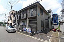 埼玉県富士見市大字鶴馬の賃貸アパートの外観