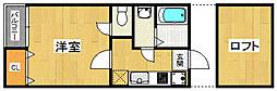 ベネフィスタウン吉塚3[2階]の間取り