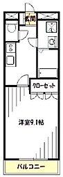ヴァンヴェール[2階]の間取り